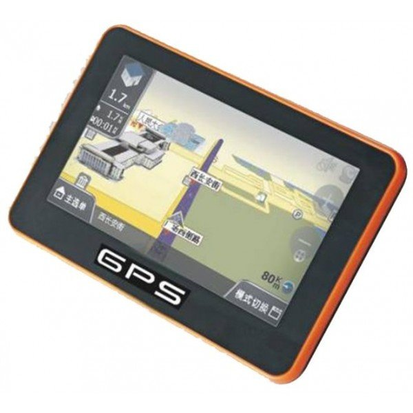 4.3-inch TOUCH SCREEN GPS, bluetooth handsfree with FM broadcast, MP4 / MP5 REF: TR061