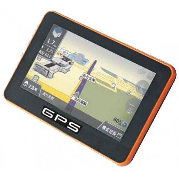 GPS PANTALLA TÁCTIL 4,3 pulgadas, con bluetooth manos libres emisión FM,   MP4 / MP5  REF: TR061