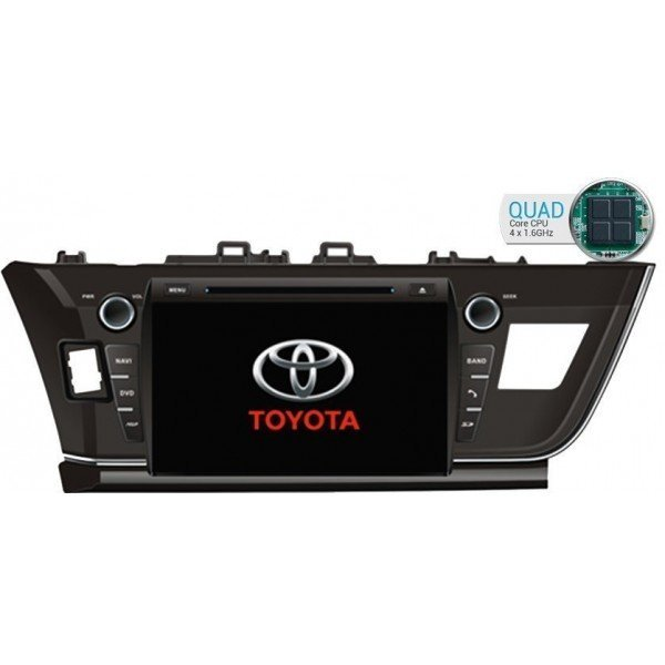 Toyota Corolla GPS Android