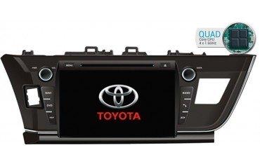 Radio navegador específico Toyota Corolla GPS Android TR1725
