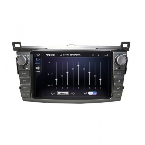 Toyota Rav4 screen