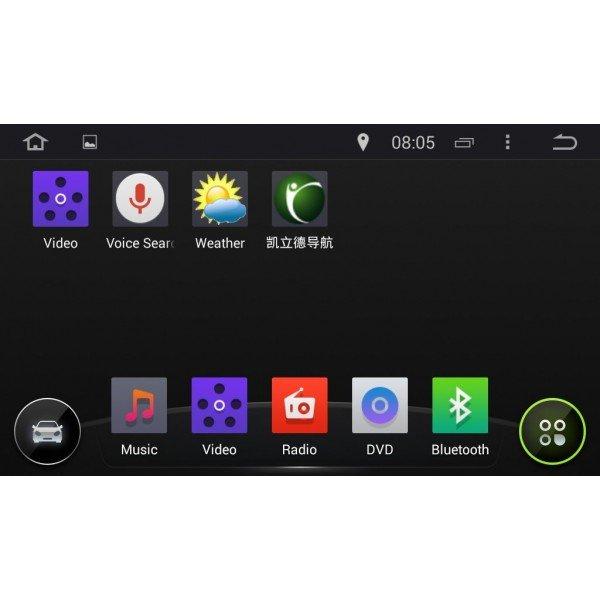 Radio DVD GPS Android HD QUAD CORE Toyota Corolla 2014 REF: TR1726