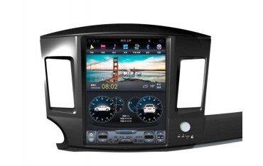 Radio GPS head unit Tesla style Mitsubishi Lancer ANDROID TR3250