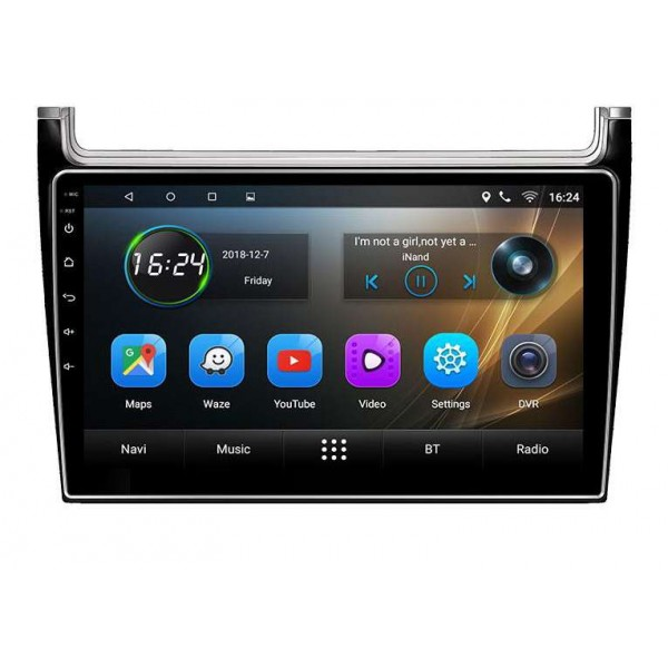 big screen head unit Volkswagen Polo