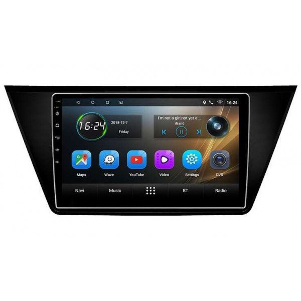 big screen head unit Volkswagen Touran