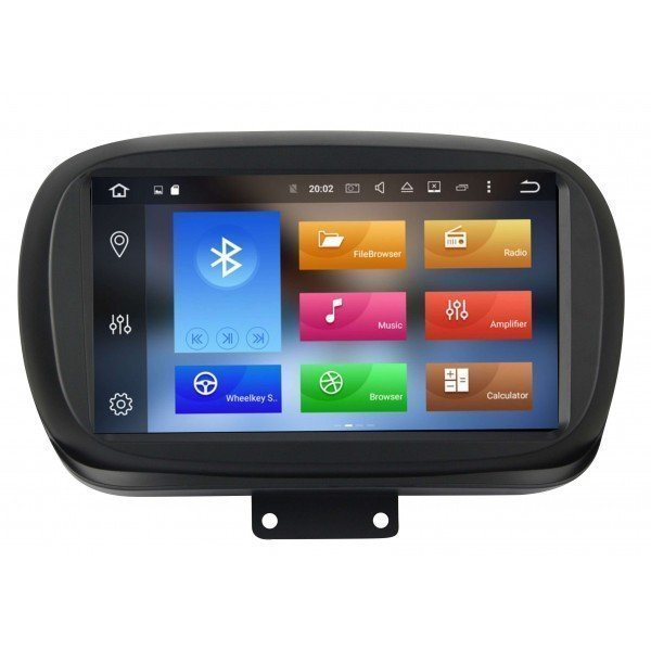 GPS Android 9 OCTA CORE 4GB fiat 500