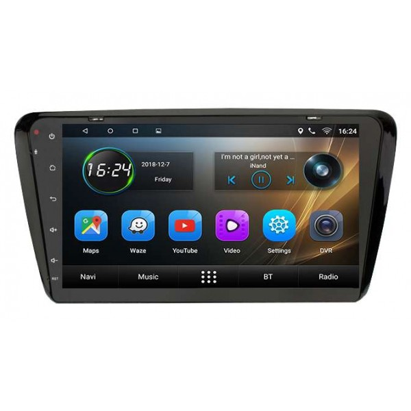big screen head unit Skoda Octavia