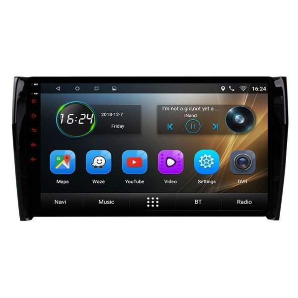 big screen head unit Skoda Kodiaq