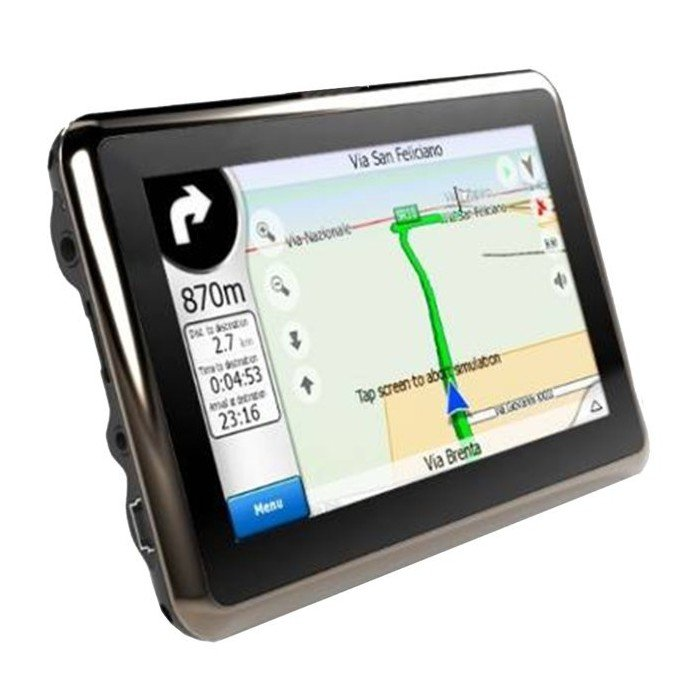 4.3-inch TOUCH SCREEN GPS, bluetooth handsfree with FM broadcast, MP4 / MP5 REF: TR062