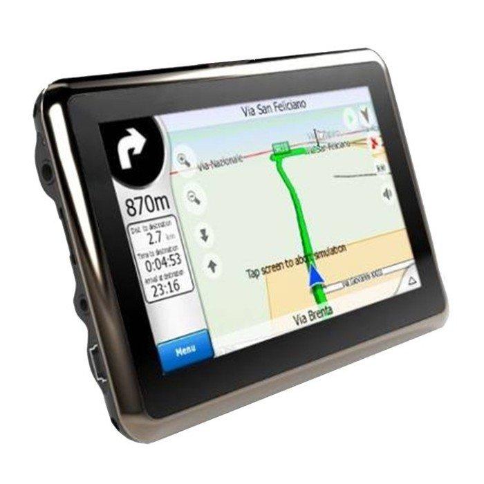 GPS PANTALLA TÁCTIL 4,3 pulgadas, con bluetooth manos libres emisión FM,   MP4 / MP5  REF: TR062