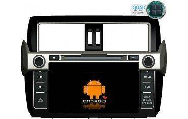 Radio navegador GPS Android Toyota Land Cruiser VX TR1732