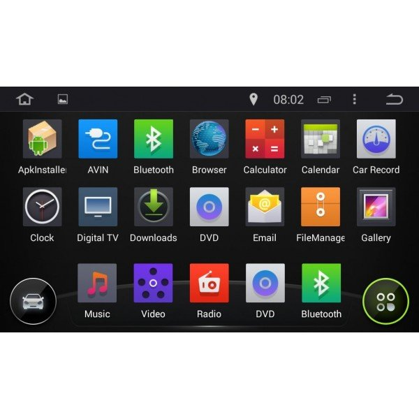 android Toyota Land Cruiser VX