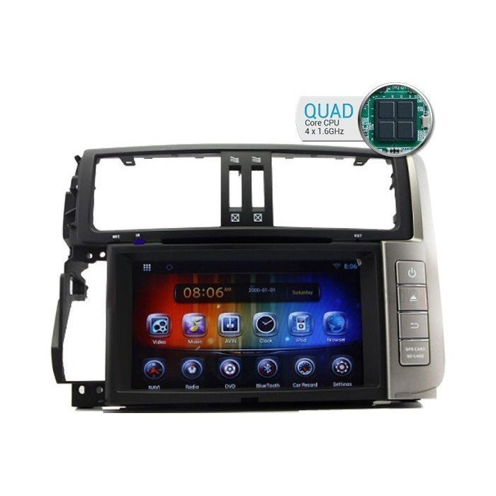 Land Cruiser KDJ 150 GPS