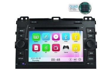 Radio navegador Toyota Land Cruiser KDJ 120 GPS Android TR1735