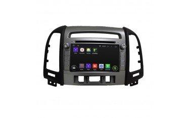 Navegador Hyundai Santa Fe con GPS Android OCTA CORE TR2353