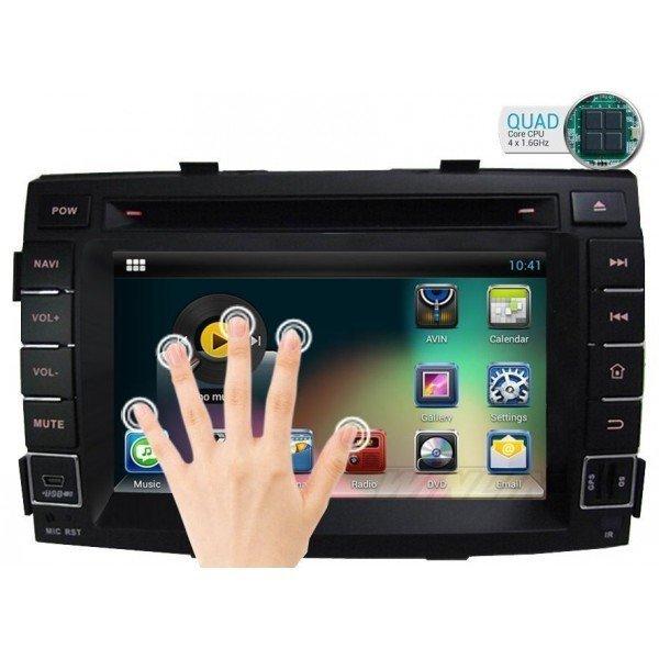 Radio DVD GPS Android HD QUAD CORE Kia Sorento REF: TR1743