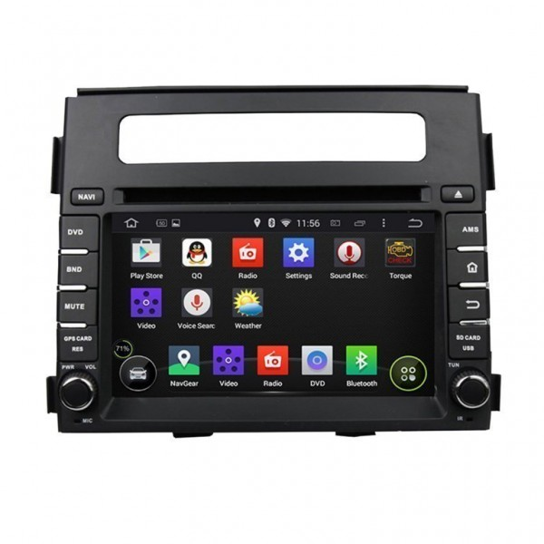 Radio GPS head unit Kia Soul Android 10 TR2355