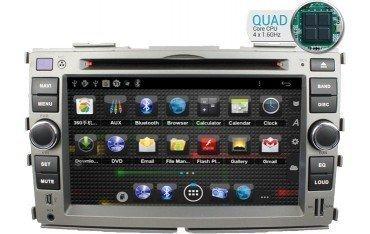 Radio navegador GPS Kia Forte Android 10 TR1744