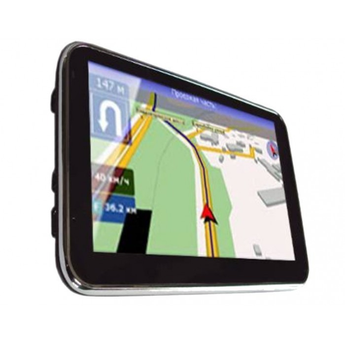 5-inch TOUCH SCREEN GPS, bluetooth handsfree with FM broadcast, MP4 / MP5 REF: TR064