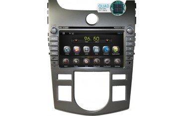 Radio navegador GPS Kia Cerato / Forte (Aire acondicionado AUTO) Android 10 TR1746