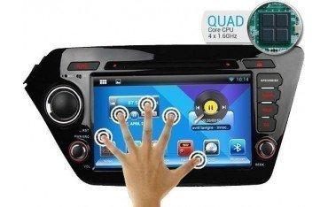 Radio navegador GPS Kia K2 / Rio Android 10 TR1748