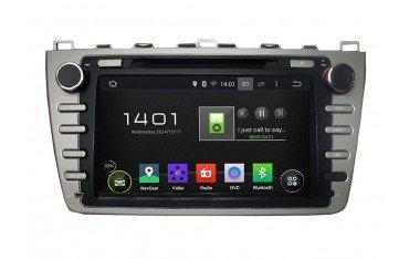 Radio navegador GPS Mazda 6 plata Android TR2376