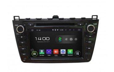 Radio navegador GPS Mazda 6 negro Android 10 TR2377