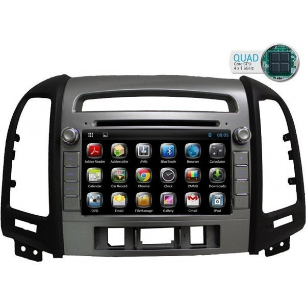 head unit Hyundai Santa Fe