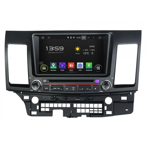 GPS Android OCTA CORE Mitsubishi Lancer 2015 REF:TR2386