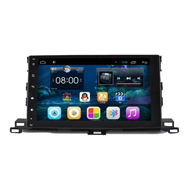 """Monitor 10,2"""" GPS Toyota HighLander 2015 Android TR2444"""