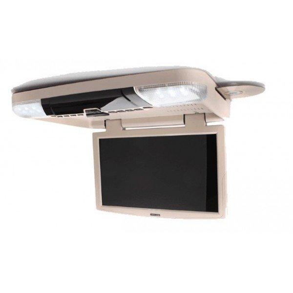 Monitor techo LCD 15,6 pulgadas. Reproductor DVD, USB, SD. REF: TR2449