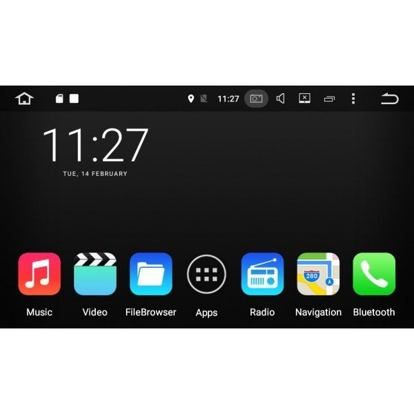 Radio GPS OCTA CORE 4G LTE Actyon / Kyron ANDROID REF: TR2452