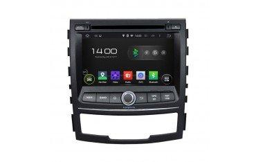 Radio GPS OCTA CORE 4GB RAM Korando ANDROID head unit TR2453