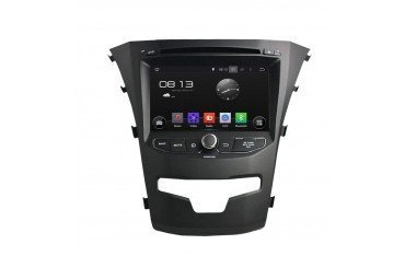 Radio GPS head unit Korando 2014 ANDROID TR2454