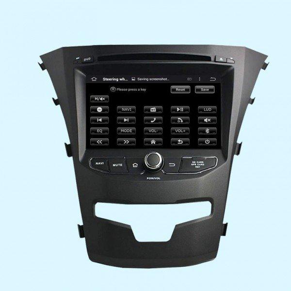 Radio GPS Korando 2014