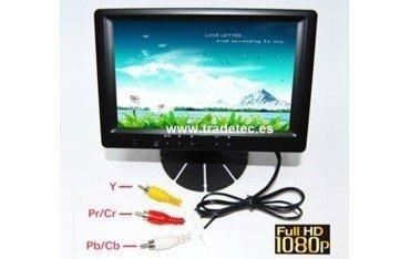 """Pantalla táctil VGA 7"""" con HDMI, YPbPr y DVI TR177"""