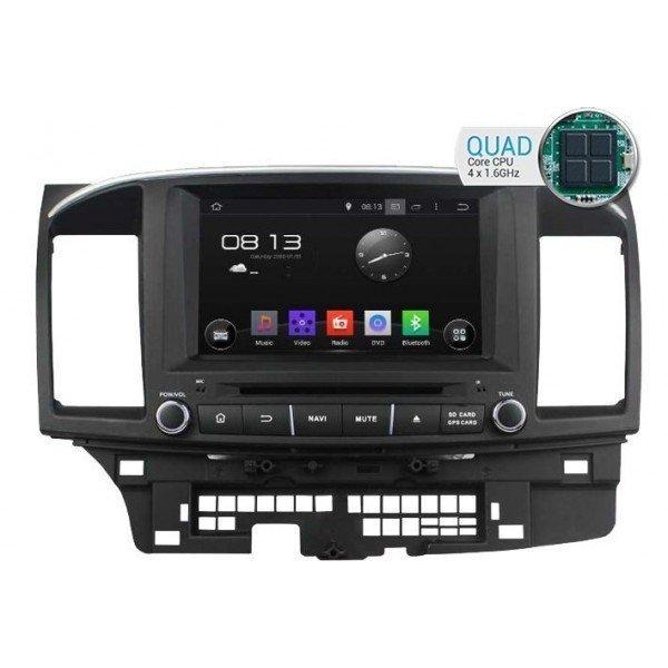 Radio DVD GPS HD QUAD CORE ANDROID Mitsubishi Lancer REF: TR1771