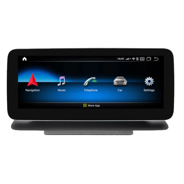 """Monitor 10,25"""" GPS 4G LTE MERCEDES CLS W218 C218 CarPlay Android Auto"""