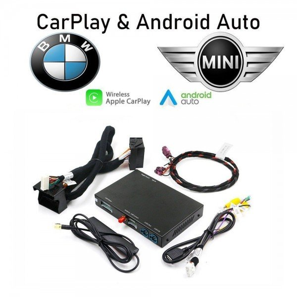 Interface Carplay and Android Auto for BMW & MINI TR3147