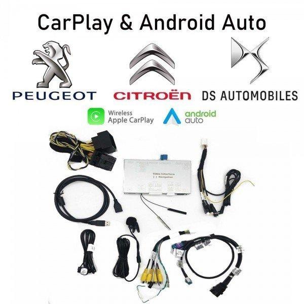 Módulo Carplay y Android Auto Peugeot / Citroen / DS SMEG TR3549