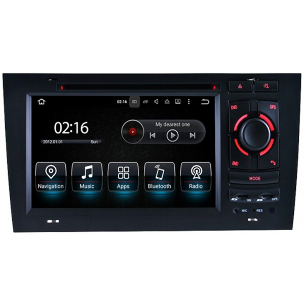Radio navegador GPS Audi A6 C5 Android 10 TR3556