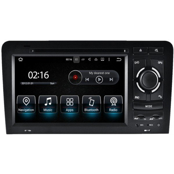 Radio GPS head unit Audi A3 8P Android 10 TR3558
