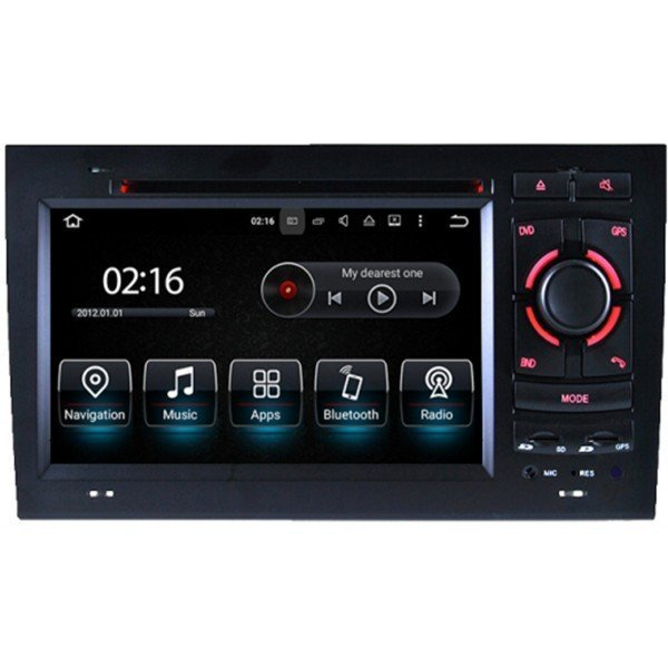 Radio GPS head unit Audi A4 B6 & B7 Android 10 TR3559
