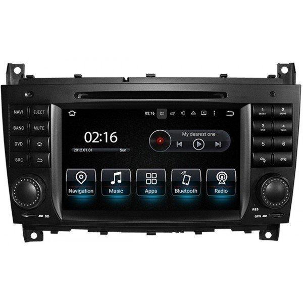 Radio GPS head unit Mercedes Benz C Class W203 Android 10 TR3562