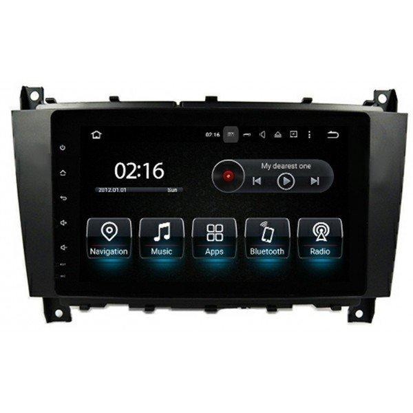 Radio GPS head unit Mercedes Benz C Class W203 Android 10 TR3563