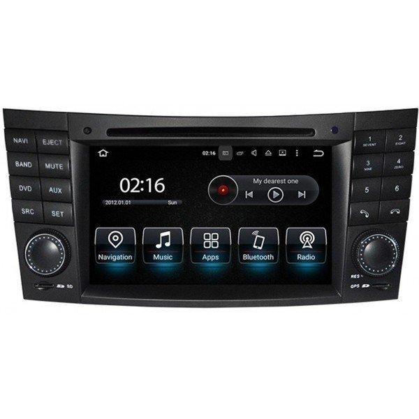 Radio GPS head unit Mercedes Benz E Class W211 Android 10 TR3564