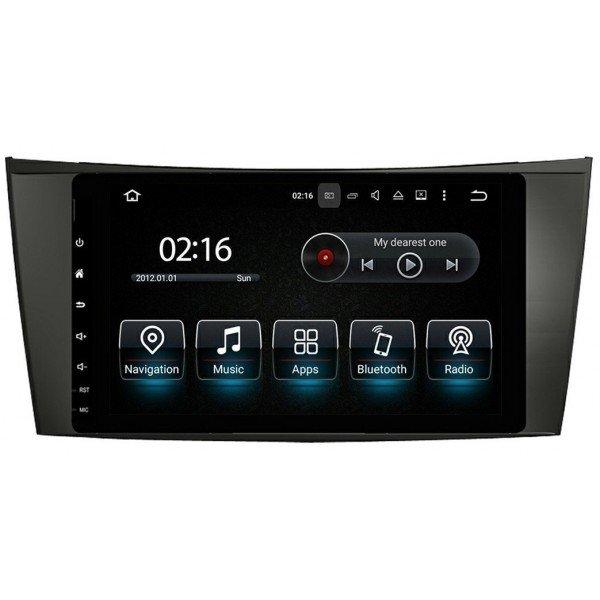Radio GPS head unit Mercedes Benz E Class W211 Android 10 TR3565