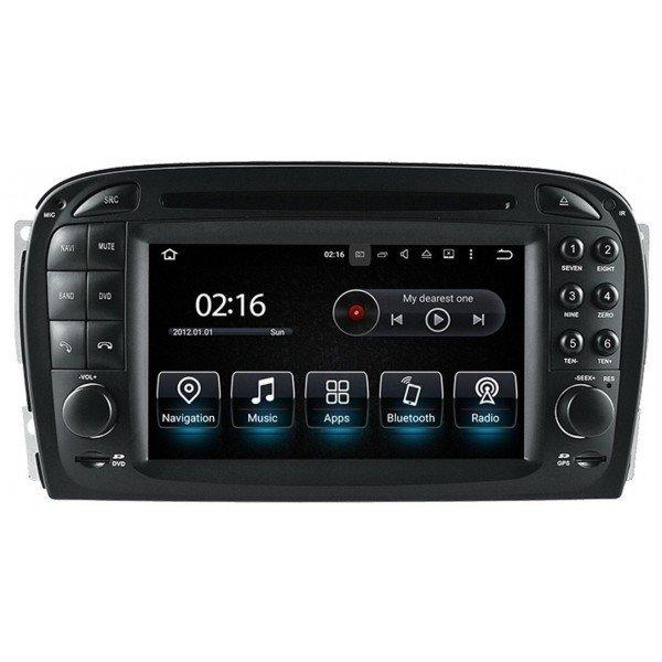 Radio GPS head unit Mercedes Benz SL R230 Android 10 TR3571
