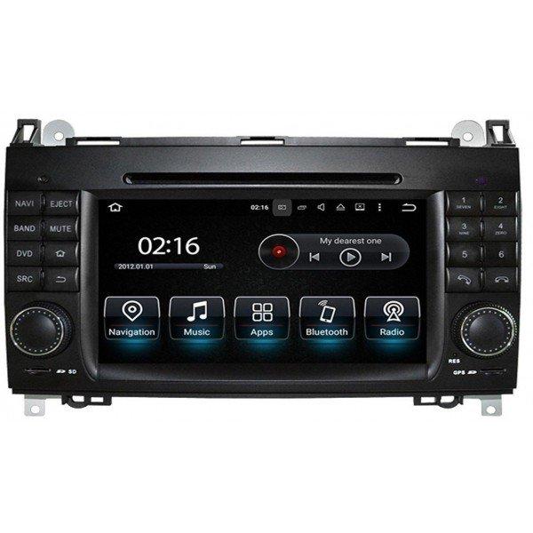 Radio GPS head unit Mercedes Benz A Class W169, B W245, Viano, Vito, Sprinter, Crafter Android 10 TR3572