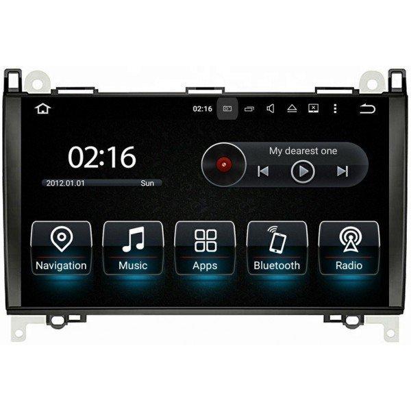 Radio GPS head unit Mercedes Benz A Class W169, B W245, Viano, Vito, Sprinter, Crafter Android 10 TR3573